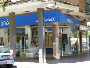opticalcala xxi, Óptica en Alcalá de Henares